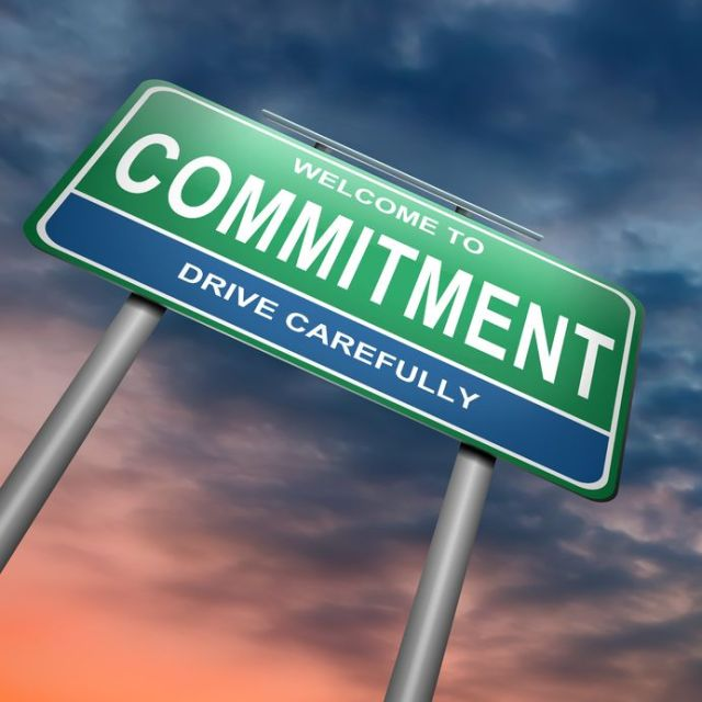 Commitment Ahead – Proceed with Care